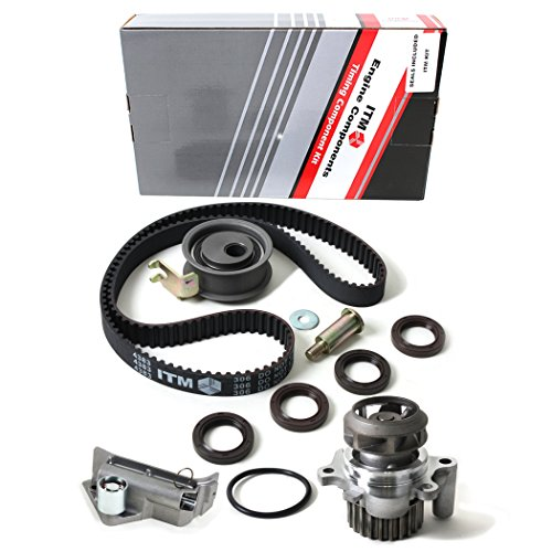 Belt Hydraulic - NEW ITM306HTWP (150 Teeth) Timing Belt Kit, Hydraulic Tensioner (Auto Adjuster), & Water Pump Set (w/ Metal Impeller)