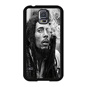 Stylish Classical Smoking Design Super Singer Bob Marley Phone Case Cover for Samsung Galaxy S5 I9600 Bob Marley Awesome