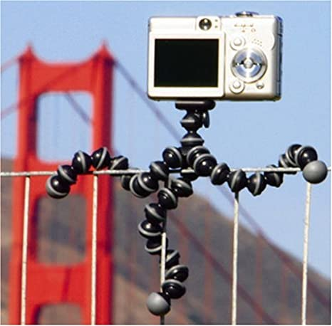 JOBY JB01252-0EN GorillaPod Original Fuchsia Flexible Camera Tripod for Point and Shoot Cameras
