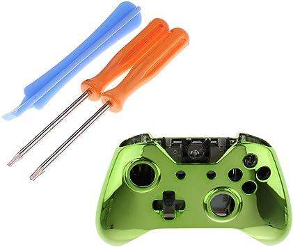 H HILABEE Shell para Microsoft Xbox One Funda Green Case T6 T8 Destornillador Herramienta: Amazon.es: Juguetes y juegos
