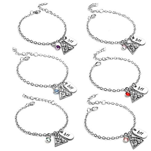 Top Plaza Rhinestone Bracelets Engraved