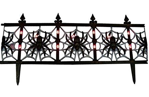 Sylvania Spider Fence Pathway Marker Indoor/Outdoor Orange Bulbs 24