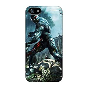Excellent Iphone 5/5s Case Tpu Cover Back Skin Protector Crysis 3