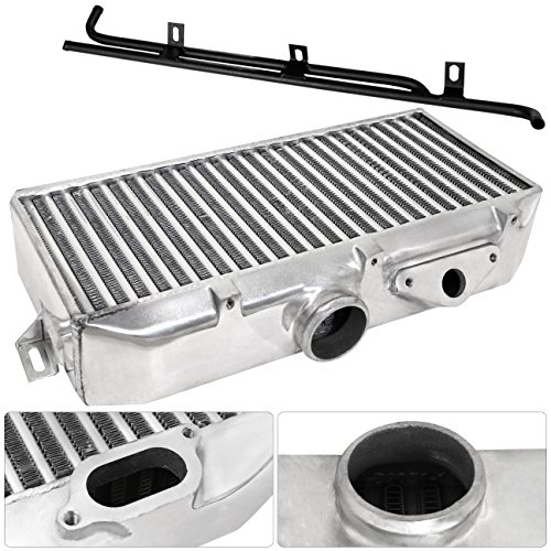 For Subaru WRX STI EJ20 EJ25 GD GG Turbocharge Aluminum Top Mount Intercooler TMIC Direct Bolt On Replacement