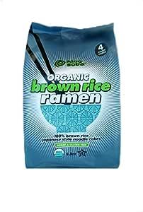 King Soba Organic Brown Rice Ramen Noodle Cakes, 280 g
