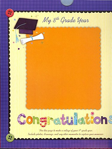 New Seasons School Years Pre-K - 8th Grade Scrapbook Pocket Album Memory Keeper by New Seasons (Image #7)