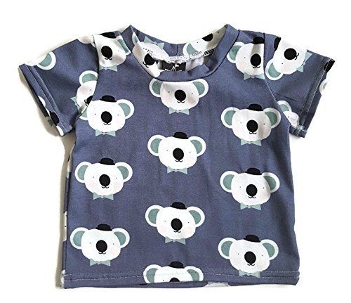 bd958432 Amazon.com: Baby and toddler t-shirt with koala bear print: Handmade