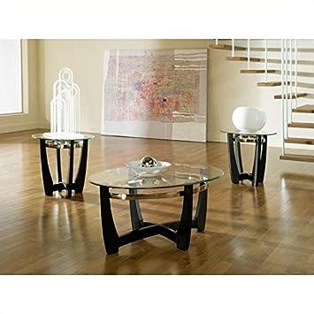 Attirant Amazon.com: Steve Silver Matinee 3 Piece Coffee Table Set: Kitchen U0026 Dining