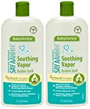 Babyganics Vapor Bubble Bath Bundle - 2 Items: 12 oz Bottles
