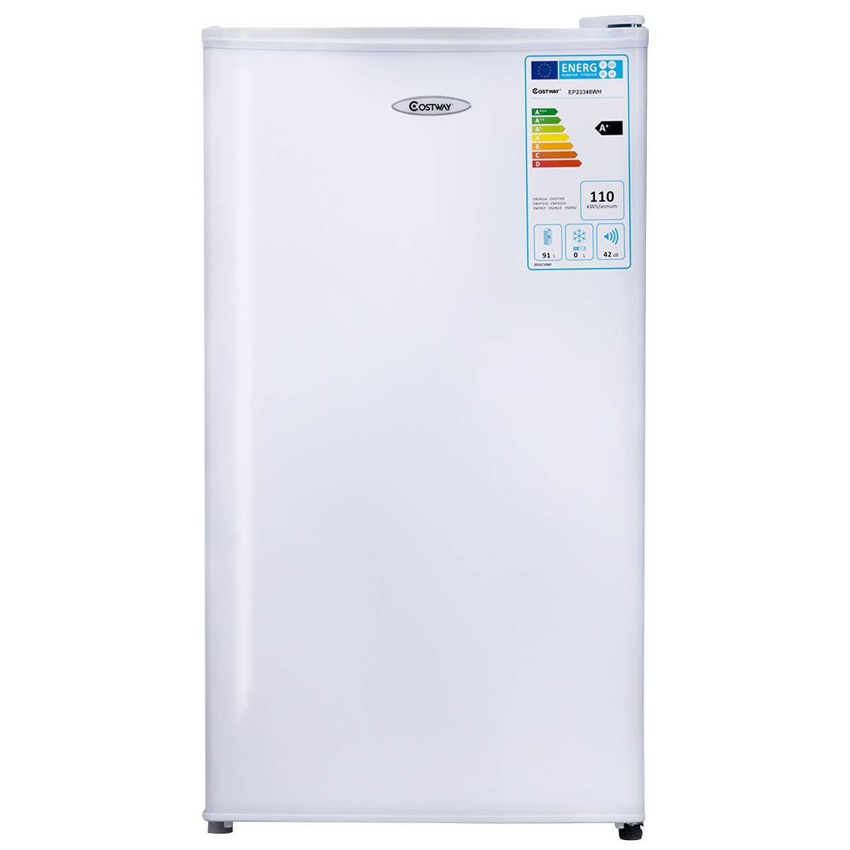 COSTWAY 91 litros Capacidad Refrigerador Nevera Frigorífico ...