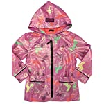 Farm Girl Western Coat Girls Raincoat Horse Print 2T Orchid F61198021