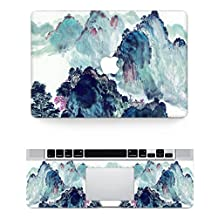 "Vati Leaves Removable Landscape painting Protective Full Cover Vinyl Art Skin Decal Sticker Cover for Apple MacBook Air 13.3"" inch (A1369/A1466)"