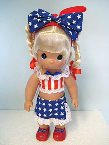 (Precious Moments Disney Born In The USA Blonde 12