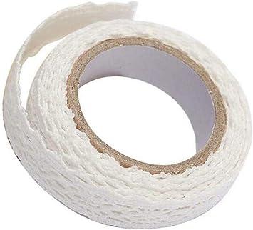 Cinta de encaje, cinta de tela de encaje de tela de algodón con ...