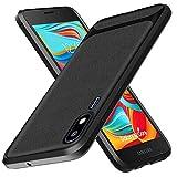 Samsung Galaxy A2 Core Case,Yuanming Flexible Soft TPU Slim Light Rugged Durable Armor Snugly Fit Case for Samsung Galaxy A2 Core -Black