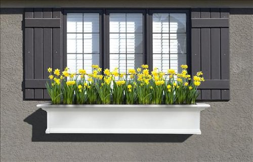 5 ft. Yorkshire Window Planter Box w Double Wall Design
