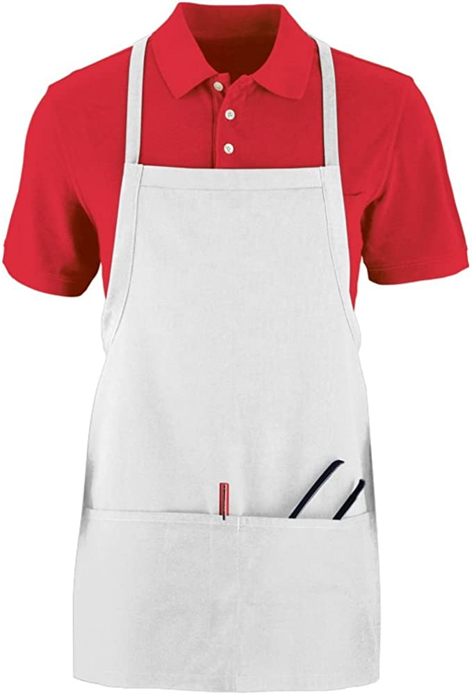 Augusta Sportswear Tavern Apron With Pouch OS