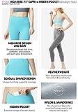 TSLA High Waist Yoga Pants with Pockets, Tummy