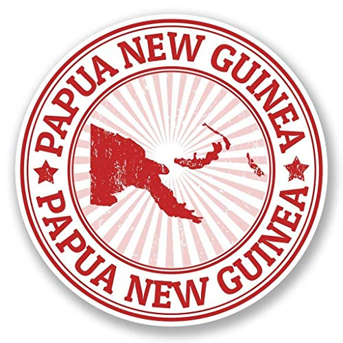 "Papua New Guinea Vinyl Sticker Decal Laptop Car Bumper Sticker Travel Luggage Car iPad Sign Fun 5"""