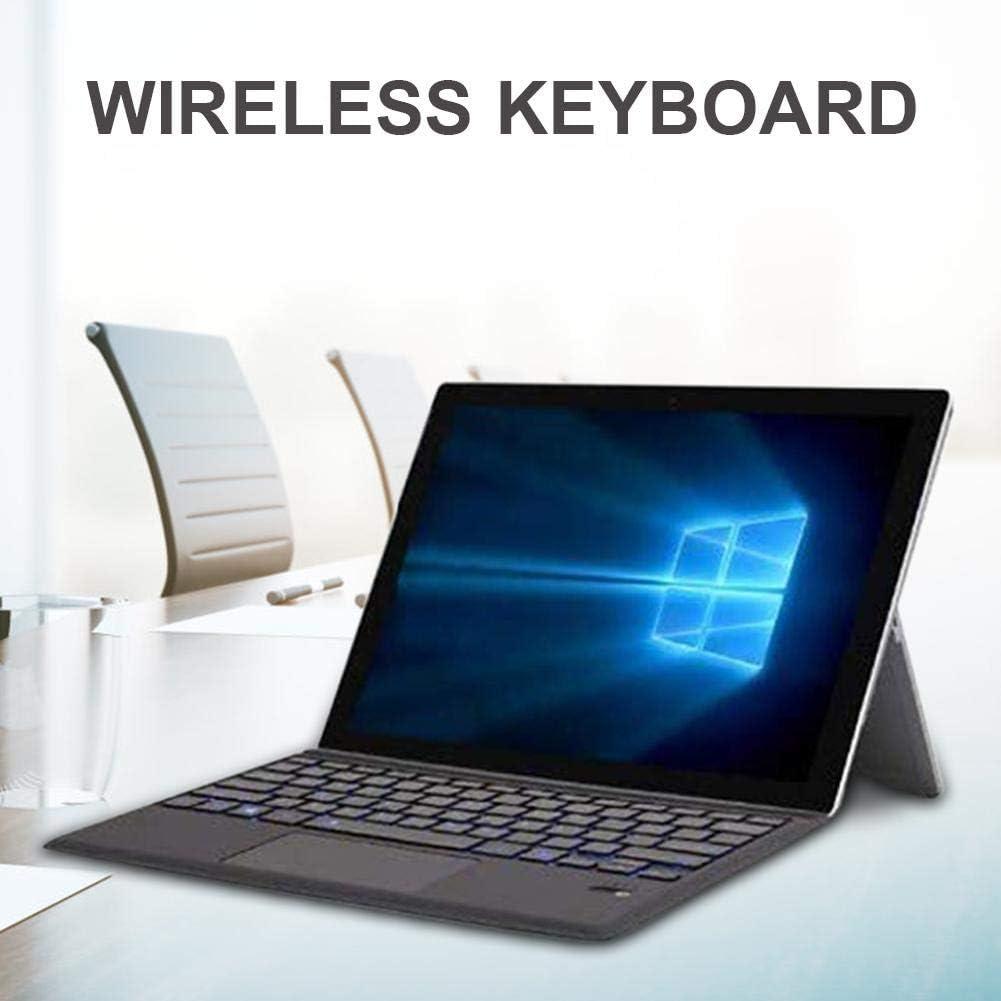 Energy-Saving Keyboard Suitable for Surface Pro Angelhood Wireless Keyboard,7 Colors Backlight Bluetooth Keyboard