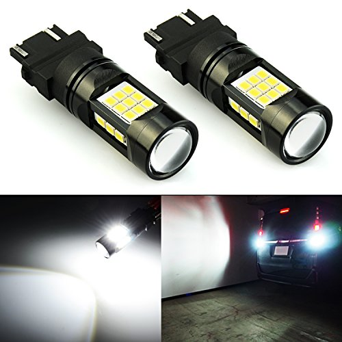 04 Dodge Dakota Projector - JDM ASTAR 2600 Lumens Extremely Bright PX Chips 3056 3156 3057 3157 4057 4157 LED Bulbs with Projector, Xenon White