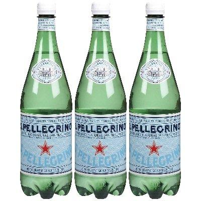 Bulk Save San Pellegrino Water Mineral 12 to 48 packs each 33.8OZ by San Pellegrino