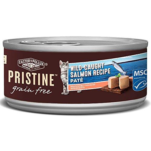 Castor & Pollux Pristine Wild-Caught Salmon Recipe Wet Cat F