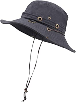 Longra💞 Women Classic Summer Outdoor Sun Hat Bucket Ladies Meson ...