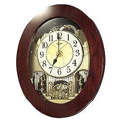 Rhythm Magic Motion Musical Clock - Grand Nostalgia Entertainer - (Micro Fiber Cloth Incl.)
