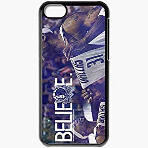 Personalized iPhone 5C Cell phone Case/Cover Skin 14976 jason terry finals by angelmaker666 d3iqebk Black