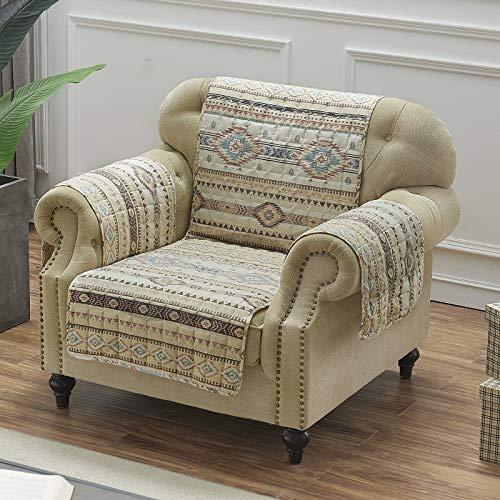 Barefoot Bungalow Phoenix Furniture Slipcover, Arm Chair, Tan (Furniture In Rustic Phoenix)