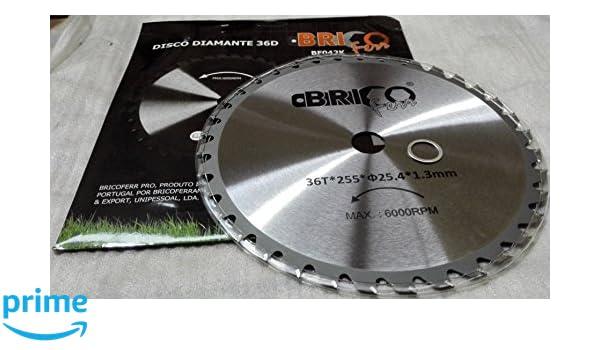 Bricoferr BF042K - Disco cuchilla de Widia con 36 puntas ...