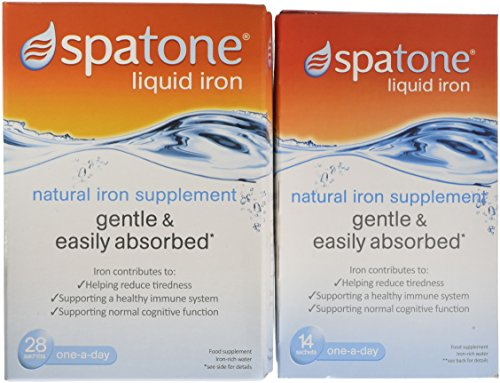 Nelsons Spatone Natural Liquid Iron Supplement - 42 day pack