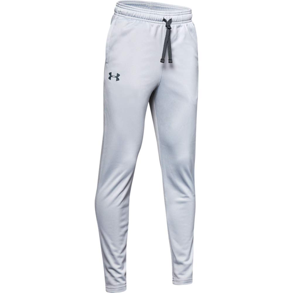 Under Armour Brawler 2.0 Tapered Pants, Mod Gray (011)/Wire, Youth Small by Under Armour