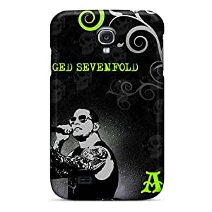 Samsung Galaxy S4 OWx10596tNky Custom Vivid Avenged Sevenfold Series Great Cell-phone Hard Covers -CharlesPoirier