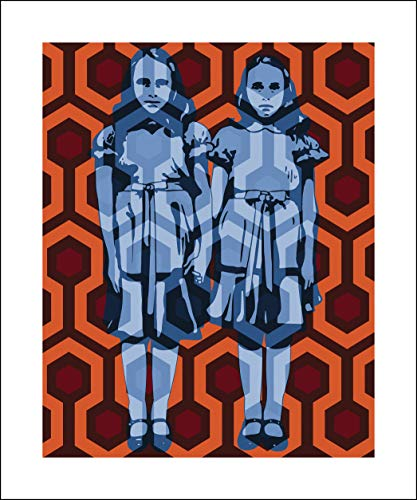 Plaid Design The Shining Fine Art Print - 20x24 - The Grady Twins - Signed/Numbered Limited Edition Pop Art Giclée - Artwork by John Lathrop