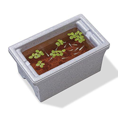 スドー メダカの発泡鉢(小) 《発泡スチロール製 メダカ飼育用》