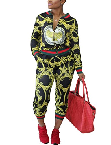 Womens 2 Piece Pant Suit - 8