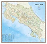 Costa Rica [Tubed] (National Geographic Reference Map)