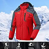 JINSHI Men's Snow Jacket Waterproof Ski Jackets