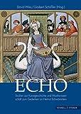 img - for Echo: Studien Zur Kunstgeschichte Und Musikwissenschaft Zum Gedenken an Helmut Schwammlein (Regensburger Kulturleben) (German Edition) book / textbook / text book
