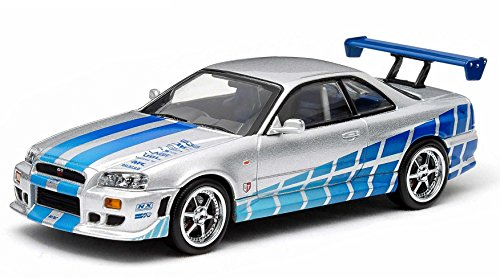 1/43 Fast & Furious 1999 Nissan Skyline GT-R Silv (Nissan Skyline Model compare prices)