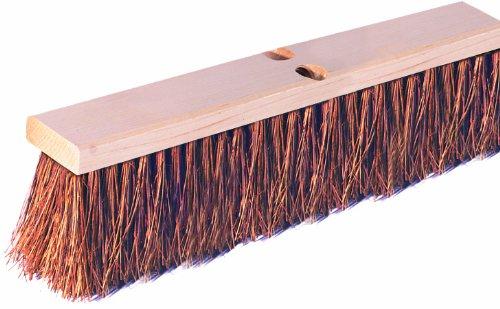 Wilen F102030, Palmyra Garage Sweep, 30'' Wood Block, 4'' Bristle Trim (Case of 1)