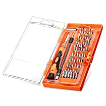 Screwdriver Set,TOPELEK 61 in 1 with 54 Bit Magnetic Screwdriver Kit,Flexible Shaft,Precision Screwdriver Set Electronics Repair Tool Set Kit for iPhone 8/8 Plus/7/7 Plusand other Cell Phone,Laptops,Tablet,PC,MacBook,Glasses,Watch,Cameras,Electronic Toys and Other Electronics Devices
