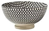 Torre & Tagus 910548W Kiri Porcelain 4.5-Inch Small Bowl - Wicker Weave