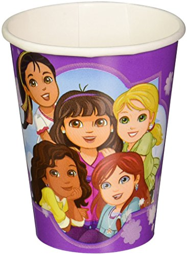 Amscan Dora and Friends 9-Ounce Paper Cups