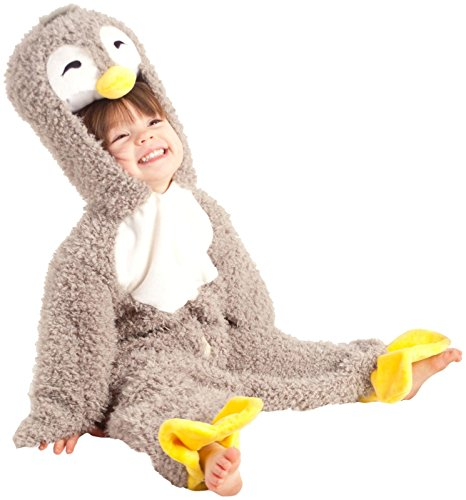 [Princess Paradise Unisex Baby Happy Penguin, Gray, 6/12 Months] (Affordable Costumes)