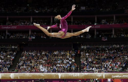 2012 Olympic Poster - Gabby Douglas Poster 11x17 inches Olympics Champion Gymnast High Quality Gloss Print 107