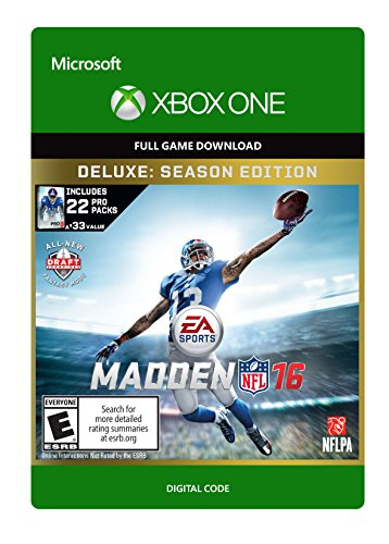 Madden NFL 16 Deluxe - Xbox One Digital Code by Electronic Arts