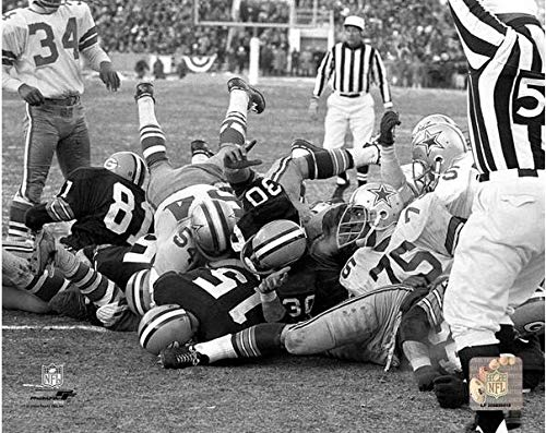 Bart Starr Green Bay Packers 1967 Ice Bowl Touchdown Action Photo (Size: 8
